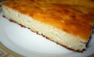 Budincă de brânză «Ca la grădiniță»