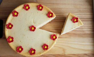Cheesecake cu brânză de vaci