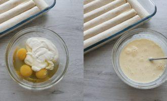 3 ouă cu smântână și un praf de sare