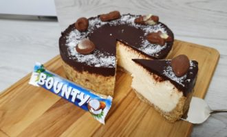 cheesecake bounty fără coacere reteta